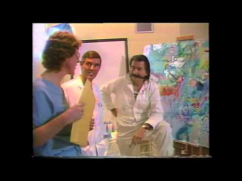 LeRoy Neiman paints Dr. Ted Diethrich and the surgical team at the Arizona Heart Institute: Part 2