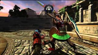 Deadliest Warrior: Legends - William Wallace Gameplay (Xbox 360)