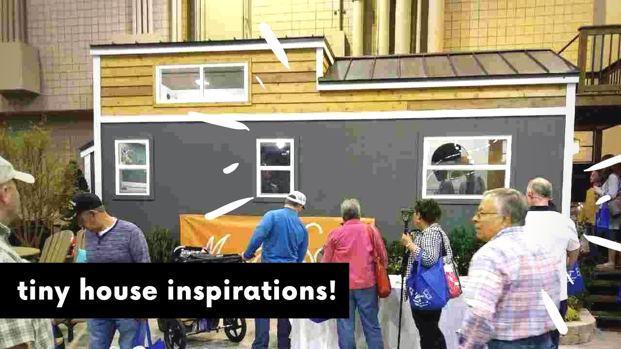 Tiny Houses At Atlanta Home Show 2019 Tradeshow Homeshow
