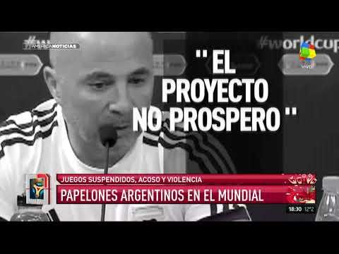 Todos los papelones argentinos en el Mundial