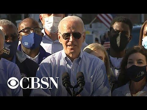 Biden tours damage from Ida in New York City