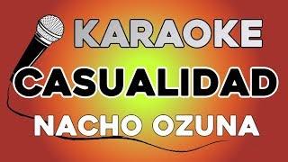 Nacho Ozuna Casualidad KARAOKE con LETRA.mp3