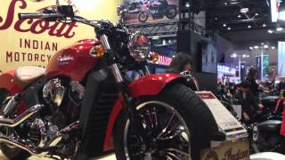 【東京モーターサイクルショー2016 動画】インディアン/ヴィクトリー