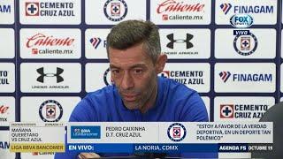Pedro Caixinha habla del VAR en la Liga MX
