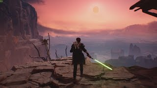 Most Beautiful Game from Star Wars Universe ! Star Wars Jedi Fallen Order