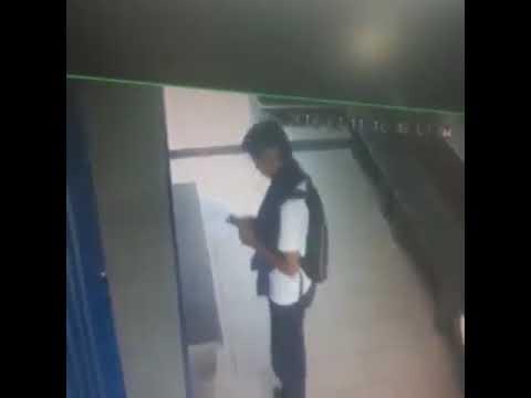 Publican estremecedor video de un robo en un colegio