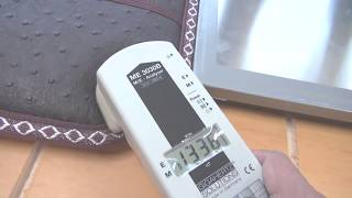 불만제로 갭스온수매트 와 전기매트 전자파 측정
