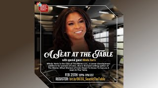 Digital Career Success Series: A Seat At The Table