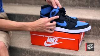 air jordan 1 ko sport blue unboxing