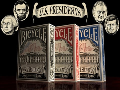 Bicycle US Presidents Deluxe Deck Review