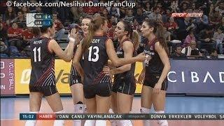 TURKEY 3-0 Ukraine (25-7, 25-12, 25-21)