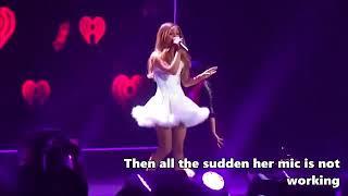 Ariana lip syncing 2014-2015