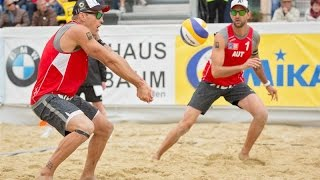 Doppler/Horst (AUT) vs Kubala/Hadrava (CZE) - CEV Continental Cup Full Match 03.05.2015