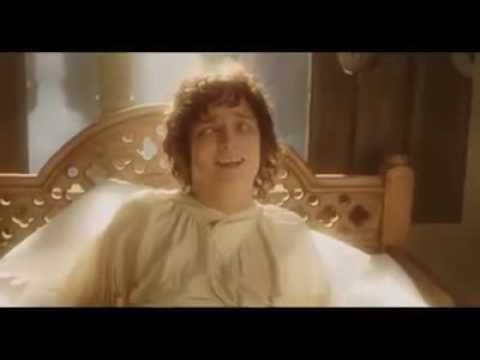 Frodo And gandalf funny moment