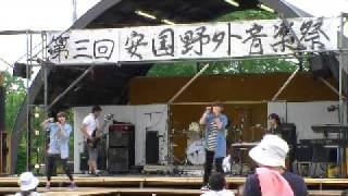 100627 hotpoco Live @第三回安国野外音楽祭 今夜はブギー・バック/TOKY...