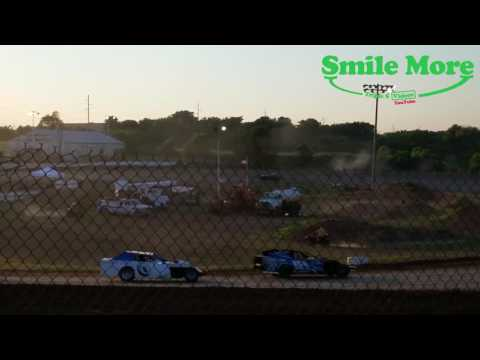 Midwest Mod B Feature Springfield Raceway June 10 2017