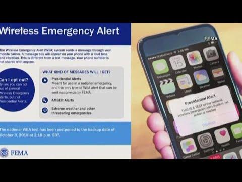 fema-to-test-cell-phone-emergency-alert-system-on-wednesday