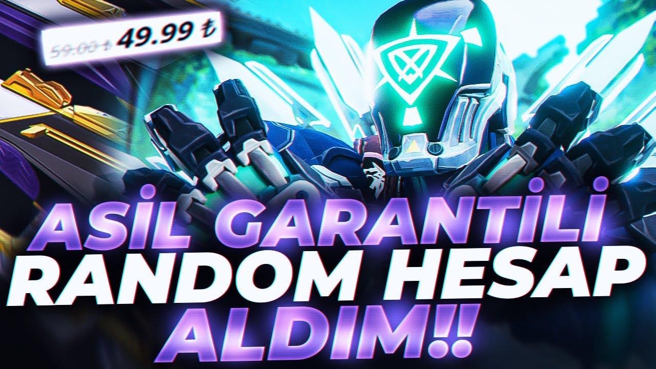 Download ASİL GARANTİLİ RANDOM HESAP ALDIM DERECELİ GİRDİM! Valorant Türkçe