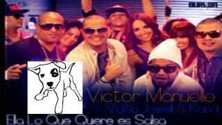 Ella Lo Que Quiere Es Salsa   Victor Manuelle ft Julio Voltio  Jowell  Randy