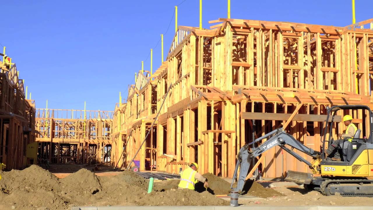 Bloomington Apartment Homes Construction - YouTube