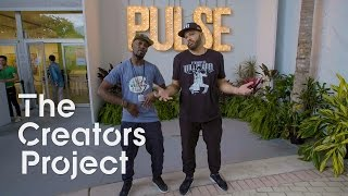 The Creators Project, Desus & Mero at PULSE Contemporary Art Fair