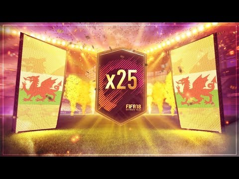 25 X 2 PLAYER PACKS INSANE WALKOUT FIFA 18 PACK OPENING
