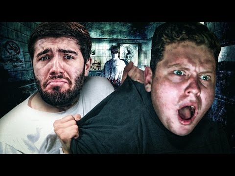 ME AND JOSH TRY HORROR GAMES