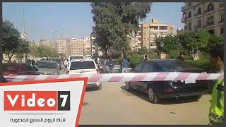 إغلاق الطرق المؤدية لموقع انفجار مدينة نصر لحين انتهاء عمليات التمشيط