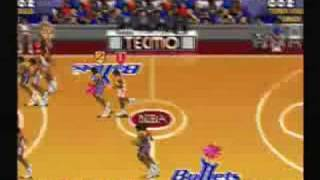 Tecmo Super NBA Basketball - Gameplay Video 1