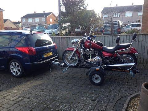 Motolug HDE Motorcycle Trailer