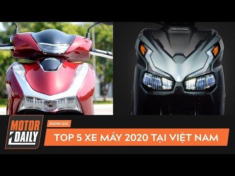 Top 5 Xe Máy Mới 2020 Tại Việt Nam: Honda Sh, Air Blade 2020 LÀM MƯA LÀM GIÓ |Motordaily|
