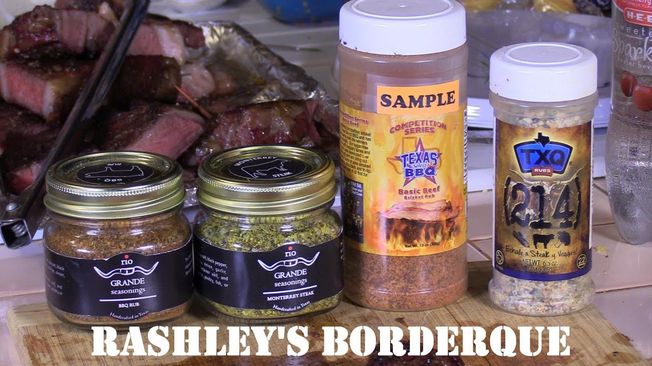 Rub Review x4 on Ribeye Steaks Reverse Seared on Yoder and Blackstone