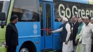 الحافلة الكهربائية في أحمد آباد||a إلى z خلق صخرة