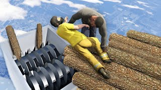 GTA 5 Epic Ragdoll Fails • vol.111 [Euphoria Physics]