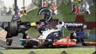 nascar vs f1 crash