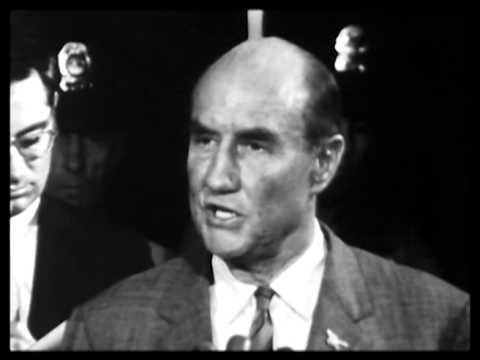 Senator J. Strom Thurmond fights nomination of Abe Fortas 1968