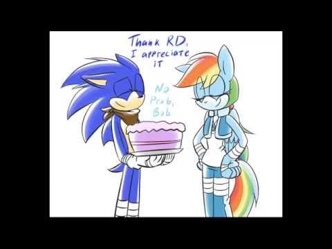 Cumpleaños De Sonic A La Rainbow Dash (Fandub Latino)