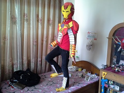 How to  make fully functional iron man mk 5 suit.