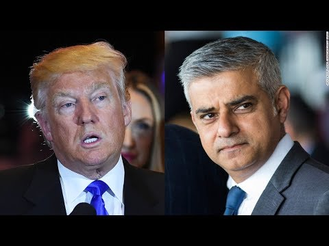 Trump Smears Mayor Of London