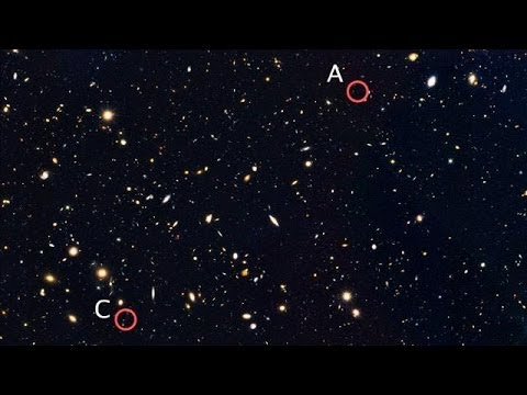 NASA Finds Four Ancient Galaxies in Remote Universe