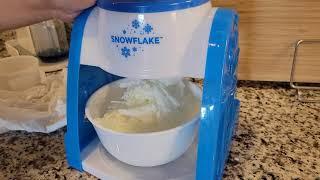 집에서 먹는 팥빙수! 빙수 기계만 있으면 우유 빙수 완…
