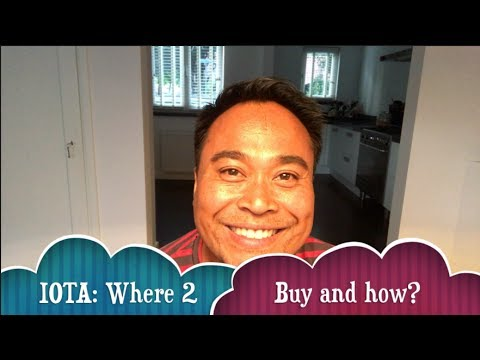 IOTA where to buy and how? (cryptocurrency / blockchain)