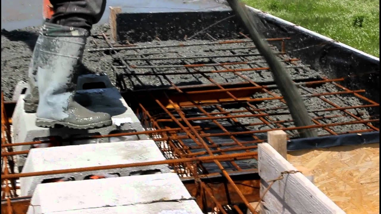 Заказать заливку полов бетоном снип класс бетона