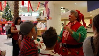 The Vintage Faire Mall In Modesto, California Kicks Off The Christmas Holiday Season