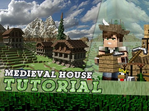 Minecraft Tutorial How To Build A Simple Medieval House