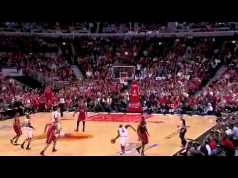 Chicago Bulls Luol Deng's Half-Court Buzzer Beater vs Miami Heat (May 18th 2011)