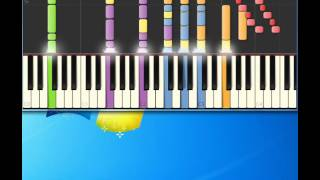 Dolly Parton   Love Is Like a Butterfly [Piano tutorial by Synthesia]