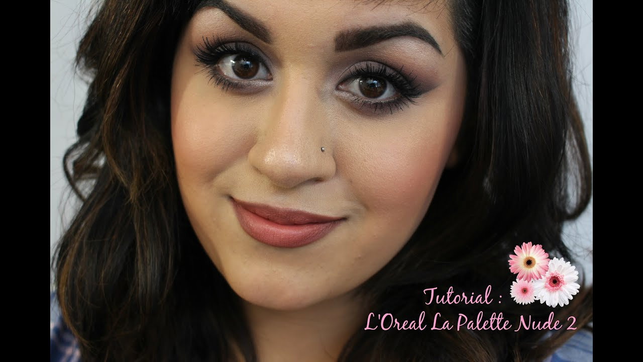 lulu hutt nudism photo 2 Soft Matte Drugstore Tutorial Feat The L'Oreal La Palette Nude 2 - YouTube