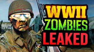 THIS IS A SPOILER WARNING: WW2 ZOMBIES TRAILER LEAKED