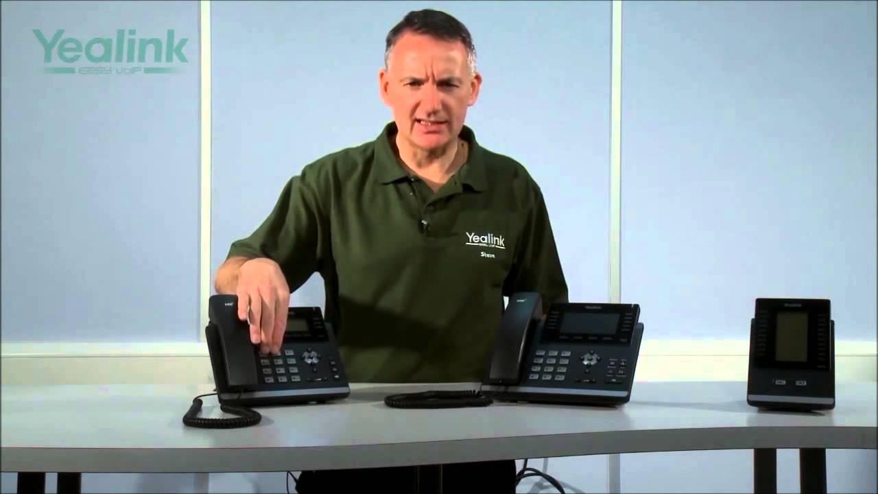 Yealink SIP-T46G 6 Line IP Phone, Colour 4 3